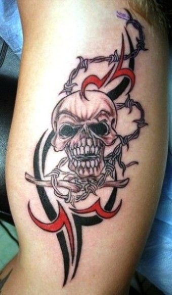 barb wire tattoos for women   ... tribal aztec tattoo armband tribal ...