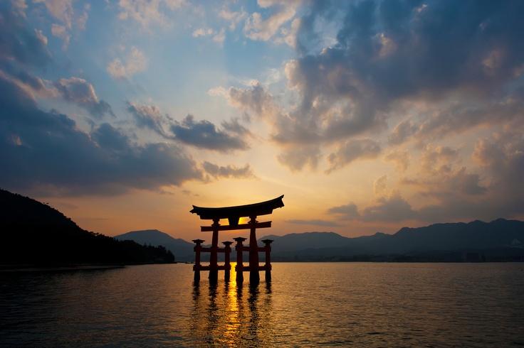 sunset #travel #Japan #Asia  (M)