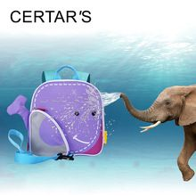 CERTAR'S Anti-Lost Children Backpacks Animal Purple Whale Baby Walkers Leading Harness Baby Prevent Wrestling Bag Wrist Leash //Price: $US $13.55 & FREE Shipping //     #hashtag2