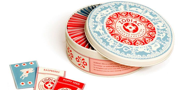 ZodiacTeaDesign Inspiration, Tea Packaging, Zodiac Teas, Packaging Design, Teas Packaging, Daniel Kroll, Products Design, Chine Zodiac, Danielle Kroll