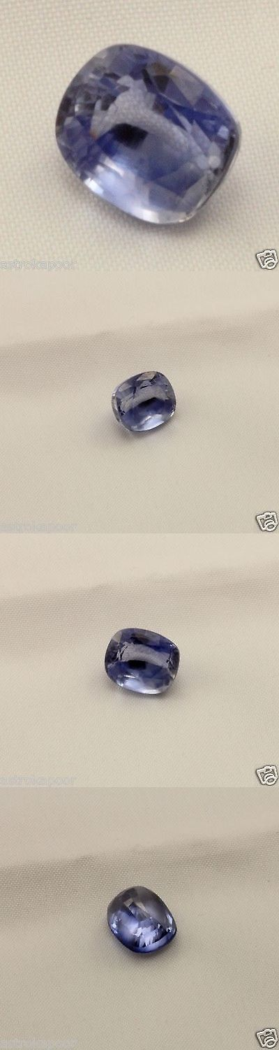 Lab-Created Sapphires 122958: 5.74 Ct Blue Sapphire Aaa+ Quality Lab Created Cushion Mixed Cut Loose Gemstone BUY IT NOW ONLY: $50.99