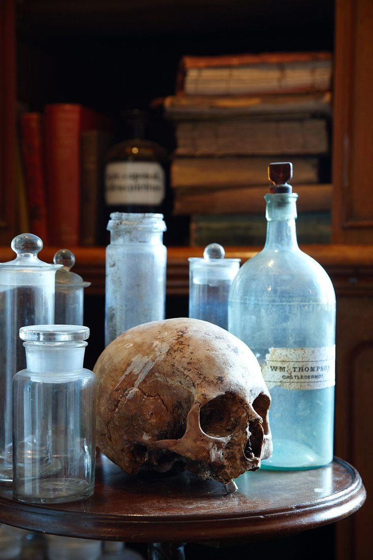 Absolute ethyl alcohol bottle vintage chemical bottle science lab - Halloween Step Into A Dusty Mad Scientists Library Creepy Photography Vintage Bottles