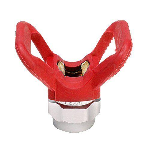 Cheap UEETEK Airless Paint Spray Gun Tip Guard Replacement For Graco Titan Wagner Sprayer Tool deals week
