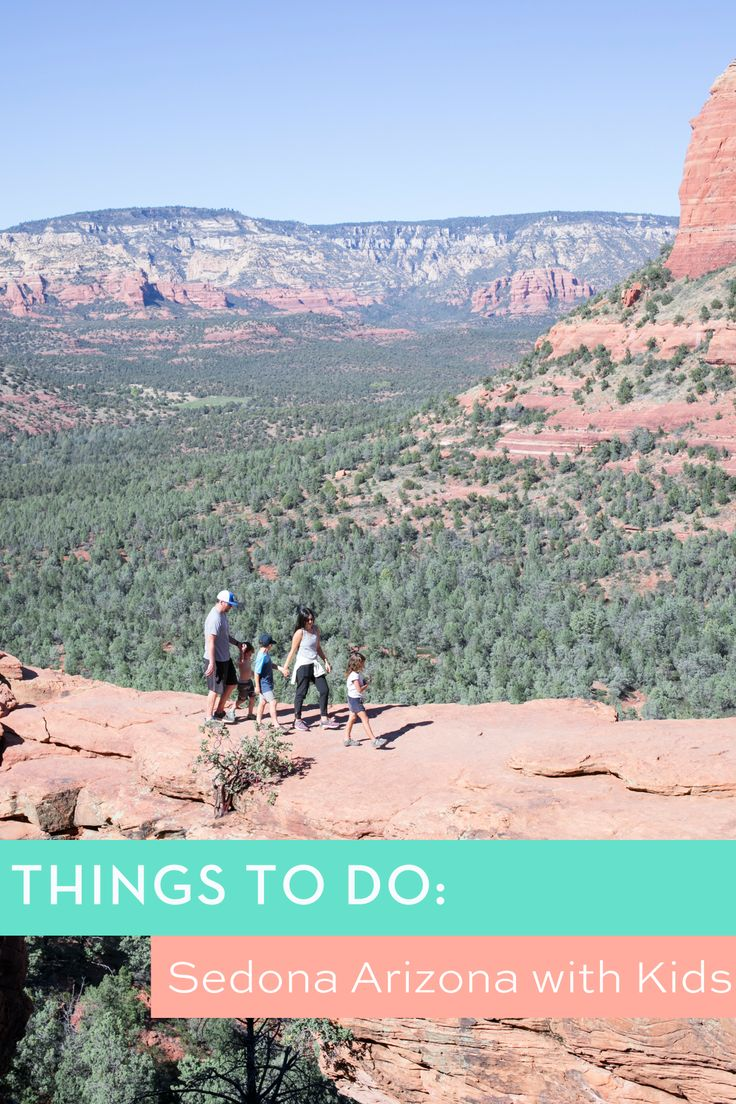 Family Travel: Things to do with kids with 48 Hours in Sedona, Arizona // Kid Friendly Hikes // ArmelleBlog.com