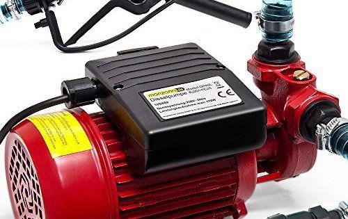 Pompe vidange huile moteur auto tracteur moto diesel 40 litres/minute 370 W: Moteur puissant de 370 watts Avec un pistolet chargeur Tuyau…