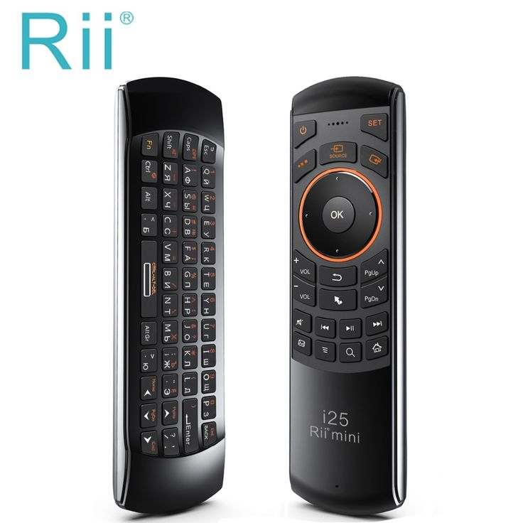 FREE WORLDWIDE SHIPPING Hot selling Original Rii mini i25 2.4Ghz Air Mouse Remote Control with Russian Keyboard for PC Samsung Smart TV Android TV BOX    Brand Rii   Specification i25 k25   Wireless solutions 2.4 G   Feature Mini Wireless Air mouse Keyboard Remote Control   Layout Russian   Color Black   Jack USB...  http://fizzleplus.com/product/original-rii-mini-i25-2-4ghz-air-mouse-remote-control-with-russian-keyboard-for-pc-samsung-smart-tv-android-tv-box/