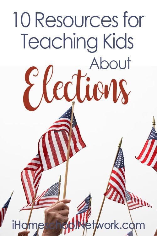 10 Resources for Teaching Kids About the Election Process
