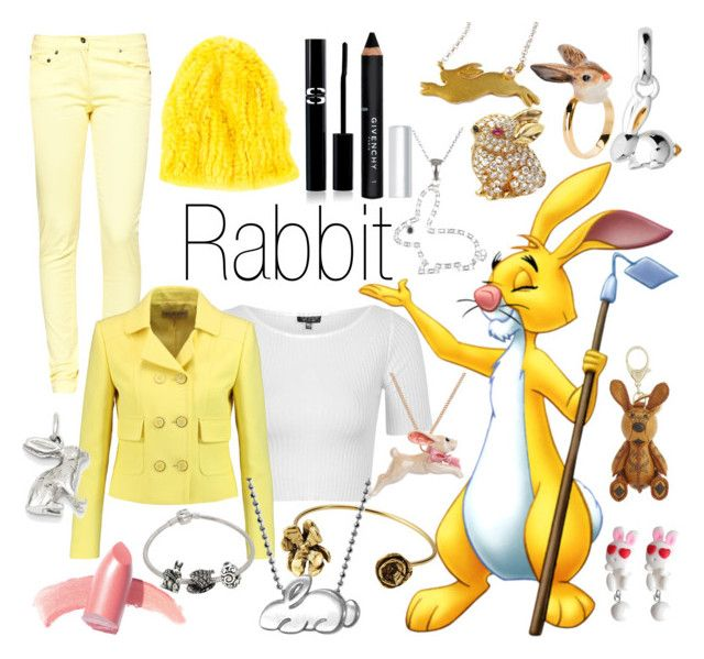"""Dawn """"Rabbit~ DisneyBound"""" by basic-disney ❤ liked on Polyvore featuring Great Plains, Topshop, Emilio Pucci, Elizabeth Arden, Belk & Co., Kevin Jewelers, Van Cleef & Arpels, Nach Bijoux, Links of London and Alex Woo"""