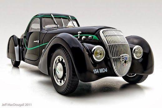 1937 Peugeot 302 Dar'lmat Coupe
