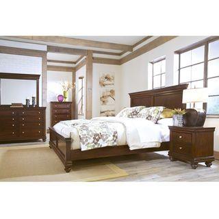 Bridgeport 8-Piece King Bedroom Package - Cherry