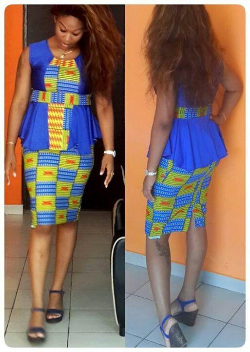 Creative Ankara Short Skirt and Blouse Design .... Creative Ankara Short Skirt and Blouse Design