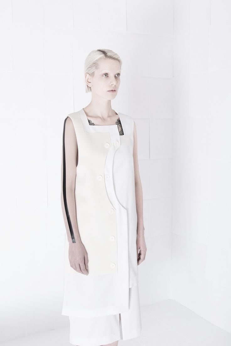 SS15 - Black Lines #orphanbird #ss15 #womenswear #allwhite #minimalfashion #whitefashion #editorial #minimalism