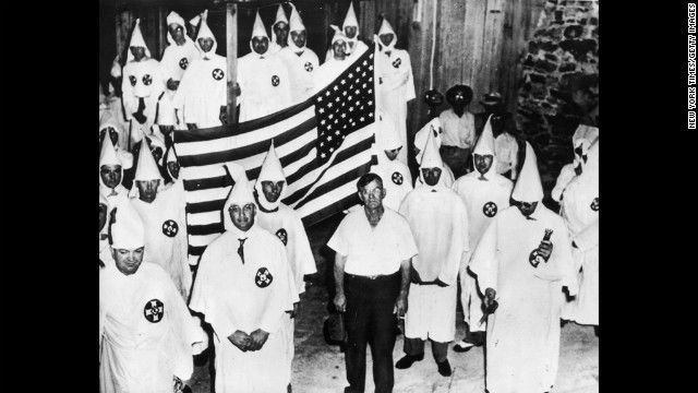 a history of the ku klux klan of america Members of the ku klux klan parading at night in springfield, ohio on  to  exercise social, political, and economic power over african americans, klan.