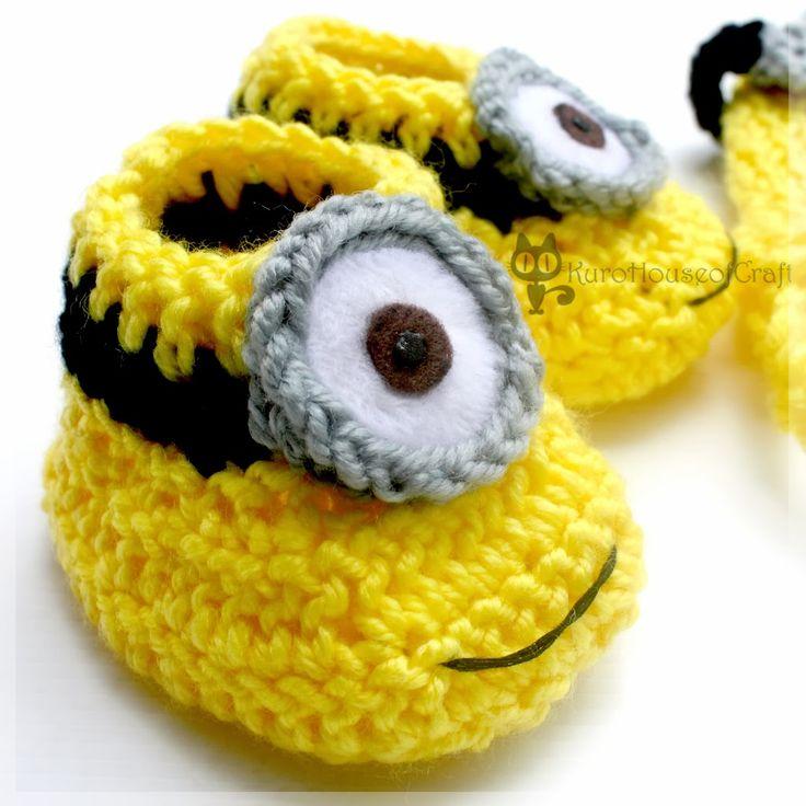 1000+ ideas about Crochet Minion Hats on Pinterest Minion hats, Crochet min...