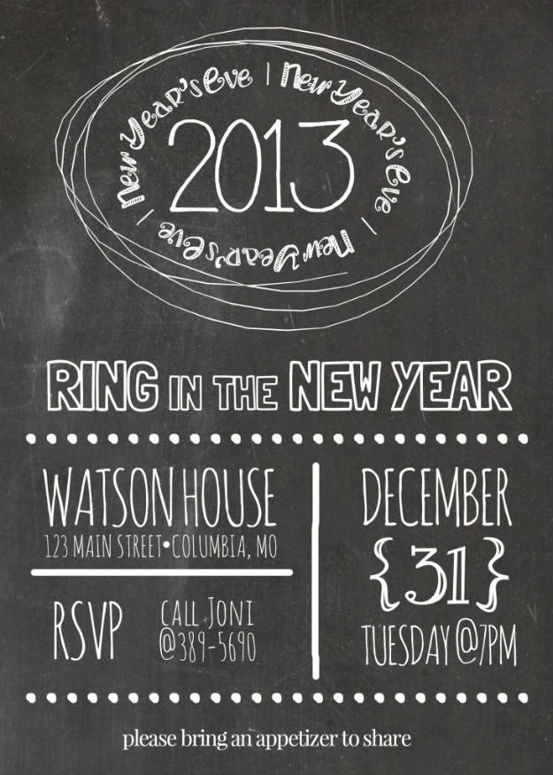 Best  New Years Eve Invitations Ideas On   New Year