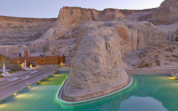 Amangiri, Canyon Point, Utah, USA  50 of the world's most unusual hotels - Telegraph