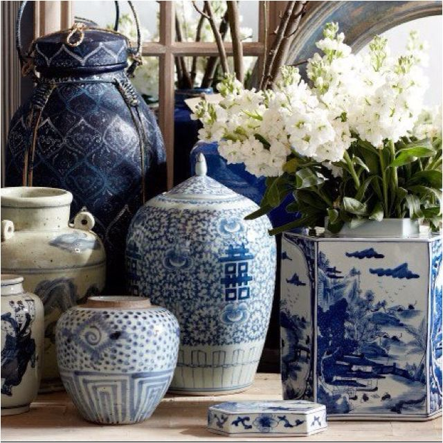 Blue and white serenity. mr