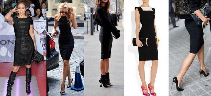 Scarpe da abbinare a vestito nero info