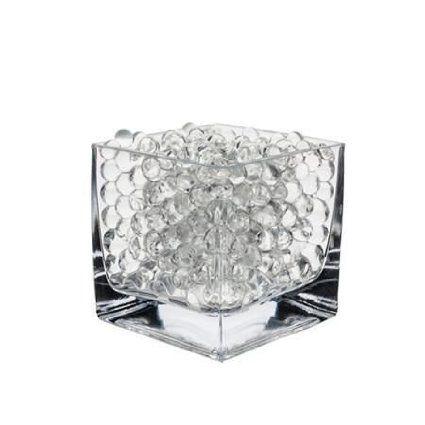 Lot de 10 sachets de perles d'eau Gel sol en Gel silicone Gel Bio d'eau pour la décoration de vases de mariage en cristal