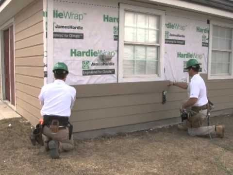 Hardieplank Lap Siding Install Video Youtube In 2019