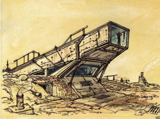 Fallout 3 Concept Art by Adam Adamowicz