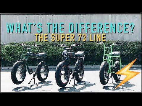 Super 73 Full Product Line   WORLD'S BEST ELECTRIC BIKES - YouTube