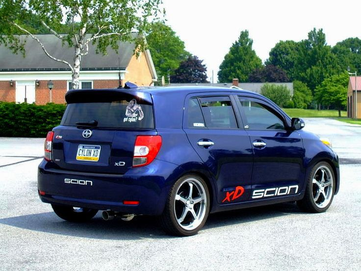 lowered scion xD