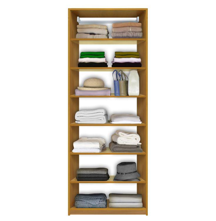 Isa Custom Closet - Closet Shelves Shelving System 7 Shelves | Contempo Space