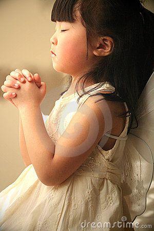 Praying with child like faith!