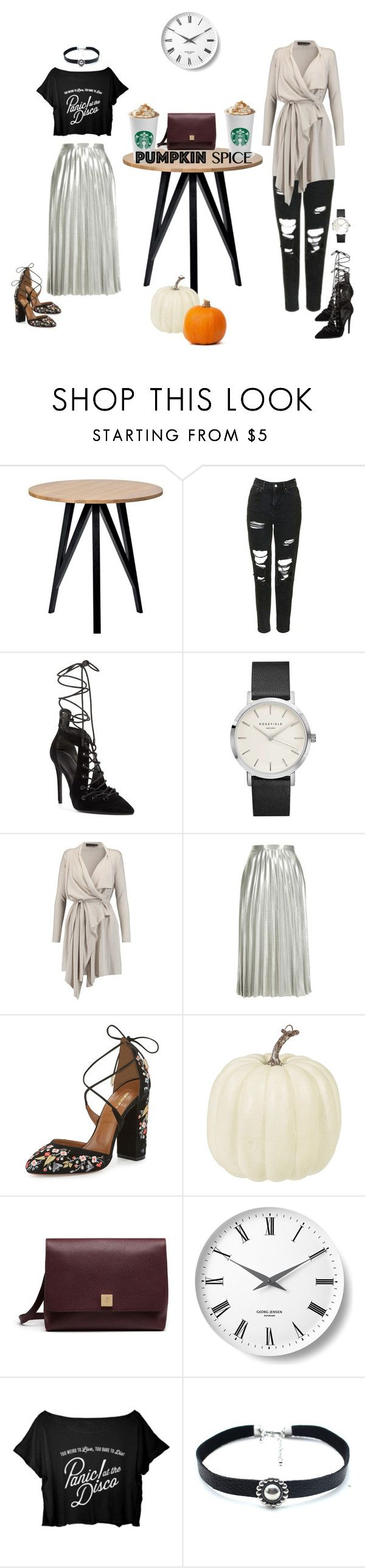 """Pumpkin Time..."" by elenamp07 ❤ liked on Polyvore featuring Topshop, Kendall + Kylie, Maria Grachvogel, Aquazzura, Mulberry, Georg Jensen, Child Of Wild, lovely, nicestyle and pps"