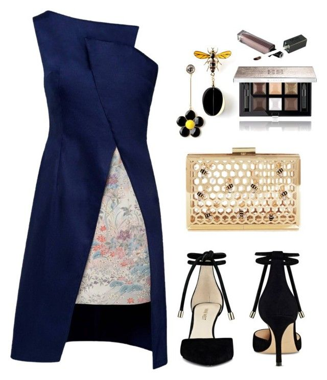 """when 🐝 meets 🌸"" by viennaelgiva on Polyvore featuring Lemiché, Nine West and Givenchy"