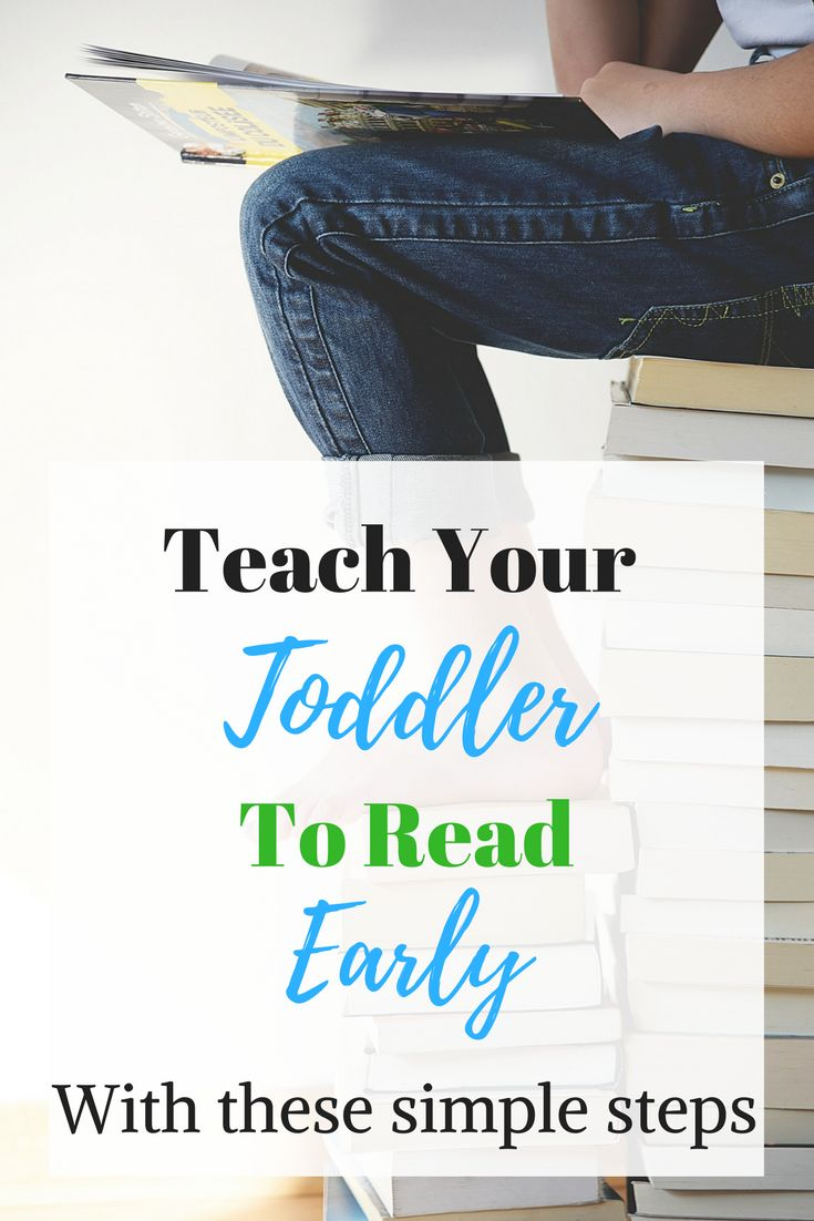 Teaching your toddler to read early is totally easy, and these are the steps I'm taking to do it. He's four and reading small, simple books!