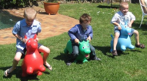 Bopalong Buddies Happy the Horse/Darcy the Dragon/Brutus the Bull