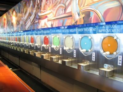 Wet Willies in Savannah, GA.  A frozen daiquiri bar on River St. - I have been there and they have strong drinks!