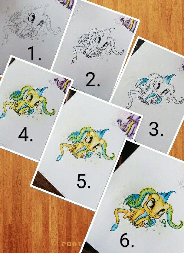 Dragon Drawing #drawings #draw #drawing #dragon #stepbystep #coloredpencil #tutorial #drawingideas #ideas