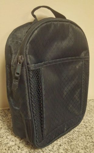 Thirty One Lunch Box Chill-Icious Thermal Tote Navy Blue School Bag Zipper