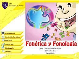 Fonética y fonología. Recursos para trabajarla.