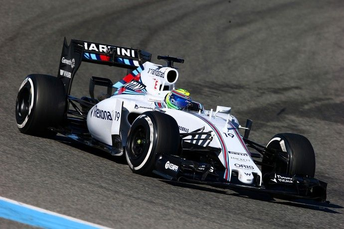 2015 Williams FW37 - Mercedes  (Felipe Massa)