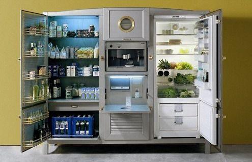 The refrigerator as an Italian work of art