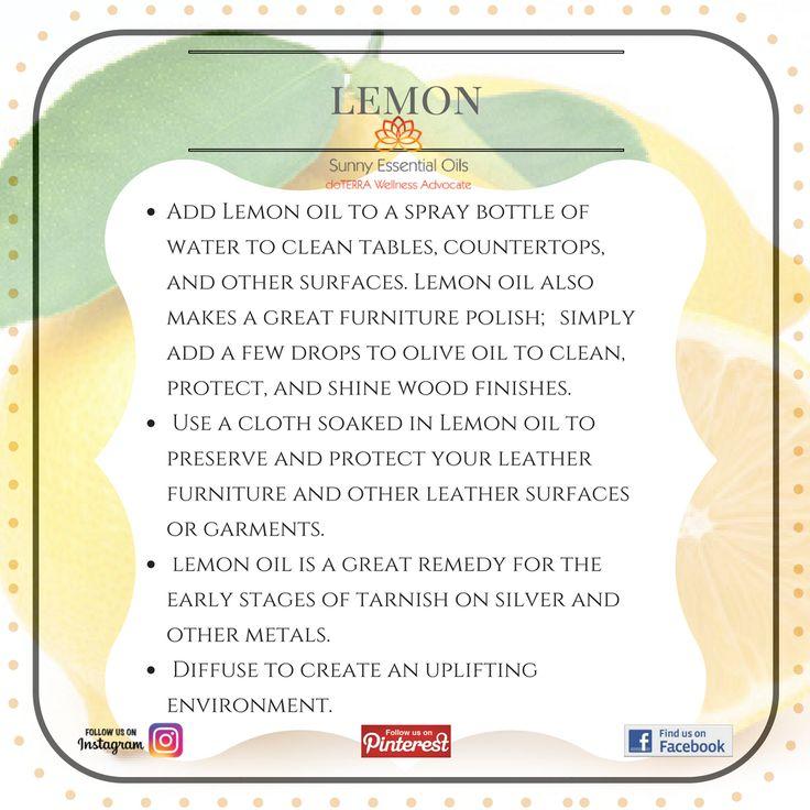 Lemon Essential Oil info  Facebook: https://www.facebook.com/sunnyessentialoils/  Instagram: @sunnyessentialoils