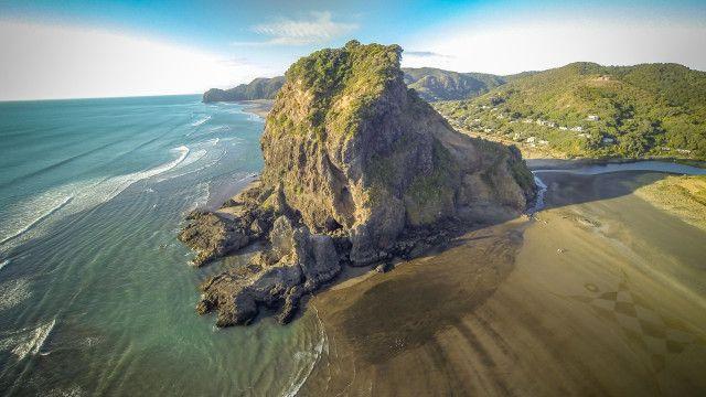 Lion Rock, Piha Beach, New Zealand