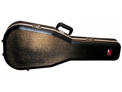 Etui Guitare Folk Dreadnought 6/12 Cordes ABS Deluxe