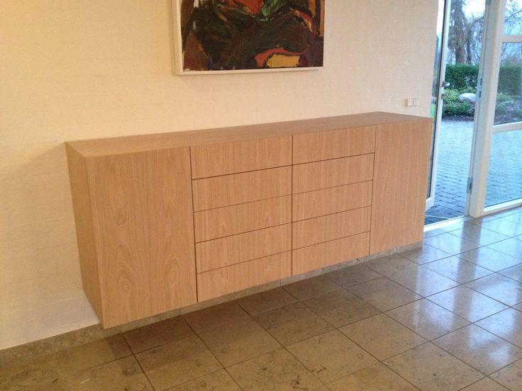 Handmade sideboard in light wood to your home.  #furnish #handmade #wood http://www.kjeldtoft.com/