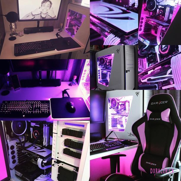 This List Of The Most Advanced Smart And Innovative Video Game Room Ideas Will Guide You To Find A Design That Ma Gamer Room Gamer Room Diy Gaming Room Setup