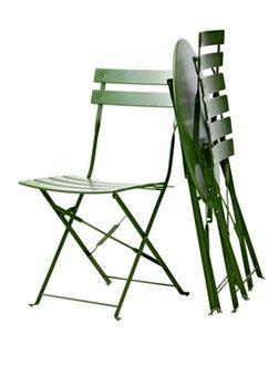 Af modish Trelon cafesæt i metal - grøn | Altan i 2019 | Outdoor chairs JJ08