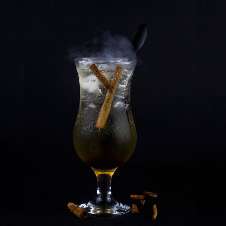 Our original Caramel Lazy served in bubbling smoke and cinnamon   #drinks #mocktails #piñacolada #pinacolada #bar #bartender #restaurant #ad #abudhabi #uae #foodporn #thirstythursday