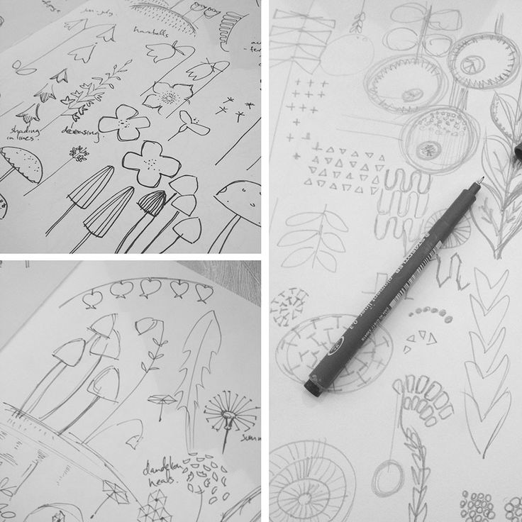 Sketchbook Drawings and New Wall Art Collection Preview It's been a busy time here at Bobbie Print, in between enjoying the arrival of Spring with bright, little flowers poking their heads above ground and the lighter, longer evenings i've been working on developing a couple of new printed wall art designs.    As ever, I find it best to start new designs with sketches and drawings, scribbling and thinking with a pencil or pen in hand.  These new print designs are inspired by the flora of…