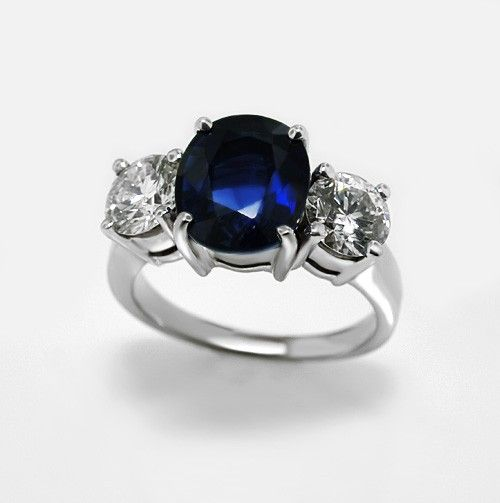 1000 Images About Oval Round Side Stone Rings On