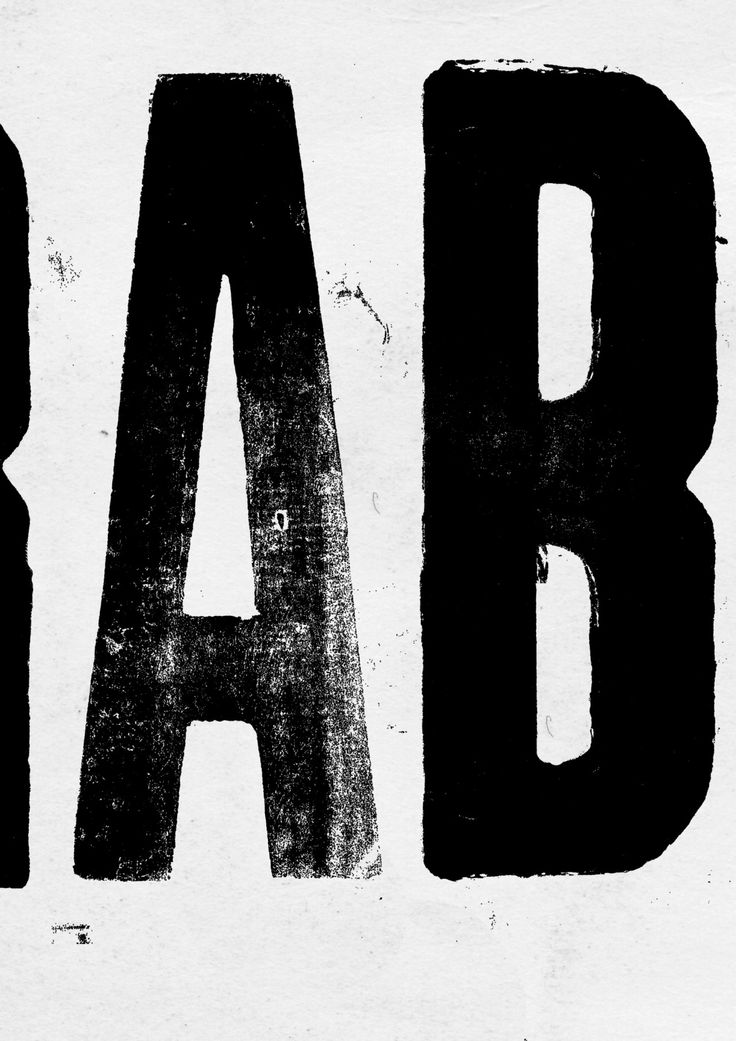 """anthonyburrill:""""WORK HARD & BE COOL WITH THE PEOPLE""""Wood type letterpress (Detail) printed by Grafica Fidalga, São Paulo, Brazil (2012)"""