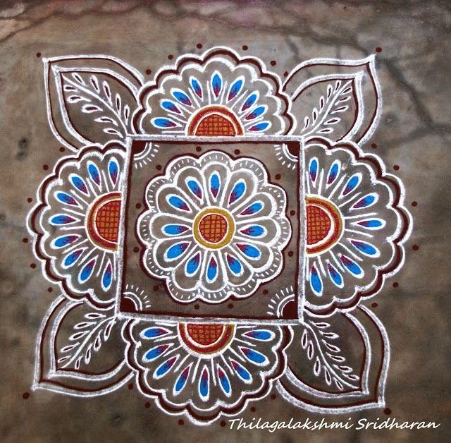 Rangoli and Art Works: Margazhi - Day 26 Kolam